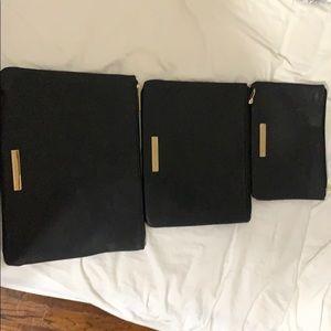 Set of 3 Makeup Bags